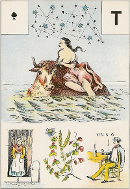 As de pique tarot de Melle LENORMAND interprétation