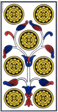 Sept de Denier Tarot de Marseille interprétation